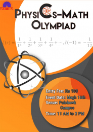 Physics- Math Olympiad